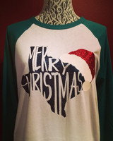 Texas Christmas Raglan