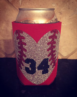 Personalized Baseball Koozie