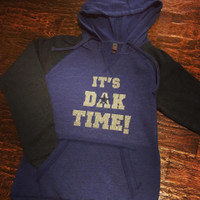 It's Dak Time! Hooded Football Fleece