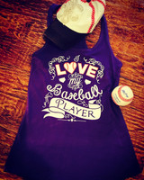 I Love My Baseball Player