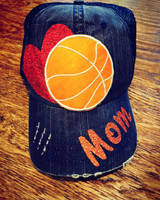 Basketball In My Heart Mom Mega Cap