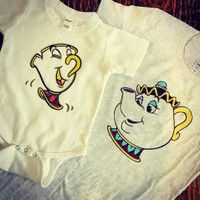 Mrs. Potts and Chip Mommy Daughter Set
