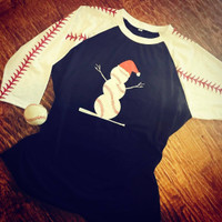 1 Baseball Frosty Sample UNISEX SIZE MEDIUM