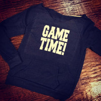 1 Sample Game Time Game Day Retro Fleece Size LADIES MEDIUM