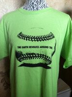 The Earth Revolves This Baseball/Softball Earth Day Unisex Tee