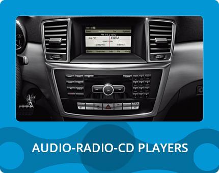 AUDIO - RADIO - CD PLAYERS