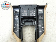 PORSCHE CAYENNE 958 CENTER CONSOLE SWITCHES PANEL w/heated cooled seats & 4 zone