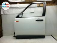 LAND ROVER LR3 LEFT FRONT DRIVER EXTERIOR DOOR FRAME PANEL WHITE OEM