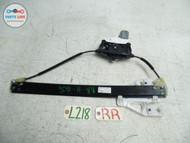 AUDI Q5 3.2L 09-14 DOOR GLASS WINDOW REGULATOR MOTOR ASSEMBLY RIGHT REAR OE