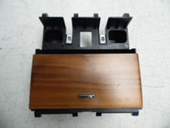 09 10 11 12 JAGUAR XF CENTER CONSOLE STORAGE ASH TRAY WOODGRAIN GENIUNE OEM XFR