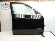 BMW E70 X5 FRONT RIGHT COMPLETE DOOR SHELL ASSEMBLY  W/O PANEL OEM BLACK
