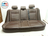 BMW E70 X5 REAR SEATS SEAT TOBACCO SET OF 5 LEATHER BOTTOM BACK OEM
