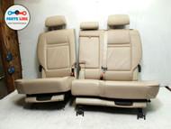 BMW X5 E70 SECOND ROW SEATS SET OF 2 WITH HEADRESTS W/ SKI BAG W/ THIRD ROW OPT