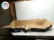 PORSCHE PANAMERA 970 FRONT RIGHT FLOOR MAT INSULATOR CARPET BEIGE OEM