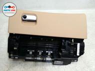 PORSCHE PANAMERA 970 GLOVE BOX LUXOR BEIGE STORAGE COMPARTMENT GLOVEBOX OEM
