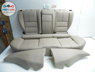 10-12 MERCEDES BENZ X204 GLK350 REAR BACK SEATS SEAT SET TAN LEATHER COMPLETE