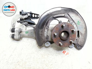LEXUS LS460 RIGHT FRONT SPINDLE KNUCKLE WITH UPPER ARM ARMS HUB AWD OEM