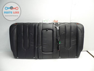 RANGE ROVER EVOQUE REAR SEAT 2 PIECE SET EBONY LEATHER BLACK W/ CUPHOLDERS OEM