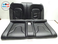 AUDI S5 REAR SEATS TOP BOTTOM TOP CUSHIONS RIGHT LEFT SET OF 4 OEM