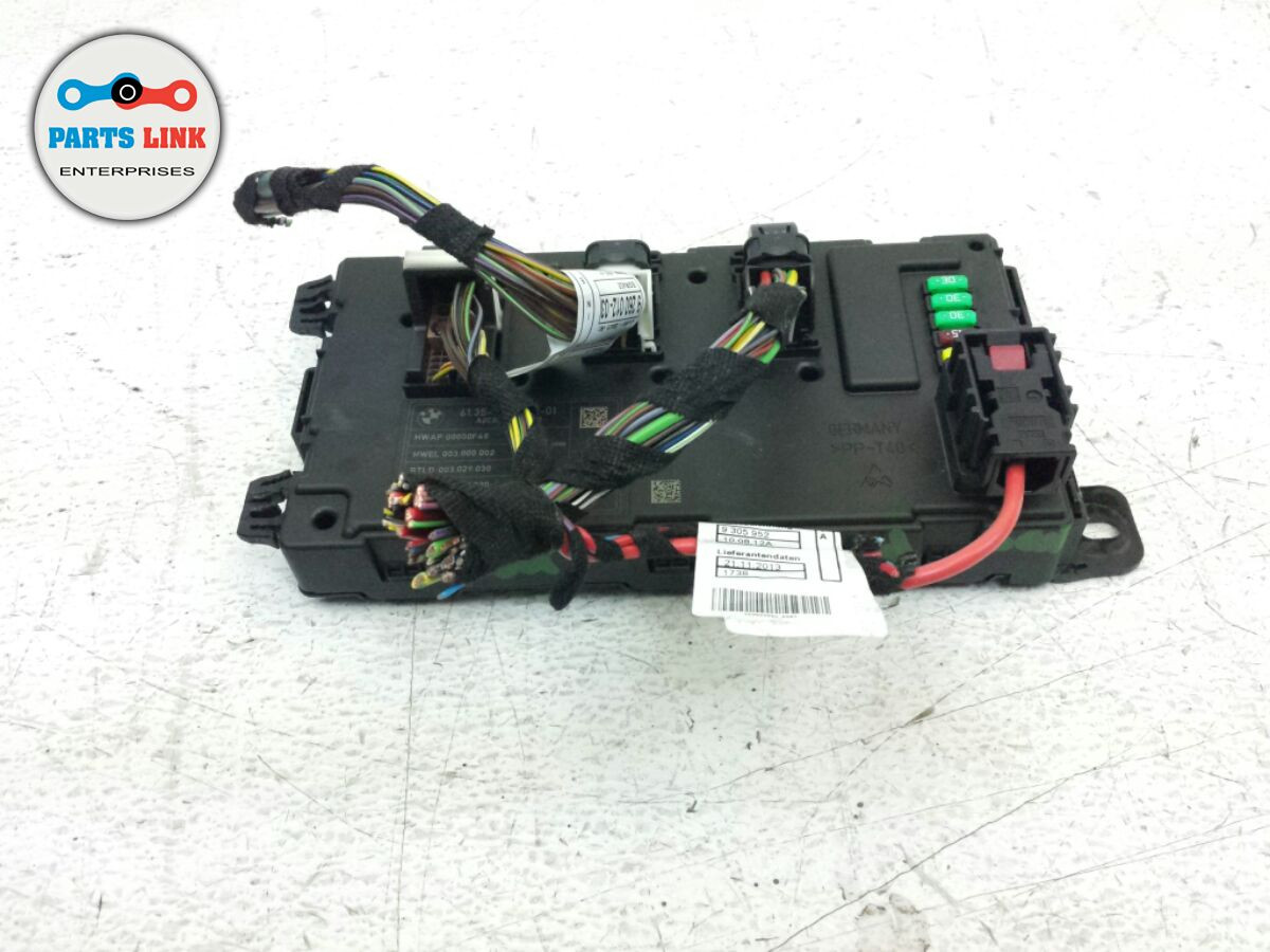BMW 335I 335 ELECTRICAL RELAY FUSE BOX JUNCTION BLOCK UNDER DASH OEM ...