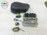 BMW 335I 335 IGNITION SYSTEM SET ENGINE COMPUTER LOCK SET-6 SWITCH KEY