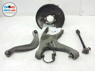 AUDI A5 COUPE LEFT REAR DRIVER SIDE CONTROL ARMS AND SPINDLE KNUCKLE W/O BEARING
