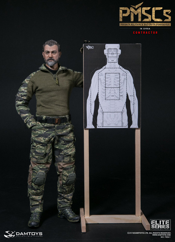 DAMTOYS 1/6 PMSCs ( PRIVATE MILITARY & SECURITY COMPANIES ) CONTRACTOR IN SYRIA   NO.78041   REAL LIKE HEADSCULPTURE GOGGLE DAM 2.0ACTION BADY TACTICAL GLOVES x3 FS FORAGER HAT TACTICAL LEAF JACKET COMBAT SUIT (Tiger Stripe) COMBAT PANTS (Tiger Stripe) BDU BELT 3D ULTRA2 SHOES APC (ASSAULT PLATE CARRIER) VEST (MultiCam) UW CHEST RIG (MultiCam) T-SHIRT (BLK) DUMP POUCH (MultiCam) MODERN AK TACTICAL RIFLE AK PMAG30 X3+1 RIS TACTICAL MOUNT MOE AK GRIP SCOUT LIGHT WITH LOW PROFILE MOUNT ELCAN SPECTERDR 1-4X RED DOT MOE RAIL VERTICAL GRIP TACTICAL SLING ZHUKOV-S STOCK G18 PISTOL G18 17 R MAG X2 G18 30 R MAG G18 50R DRUM MAG G18 RED DOT G18 SILENCER SILYNX QUIETOPS HEADSET SYSTEM SABER III RADIO JUGGERNAUT.CASE AND MOUNT STYLUS PEN PALS GARAGE BACKPACK (BLK) DUFFLE BAG (BLK) LEG DROP GP POUCH GP POUCH (BLK) CQC LEG HOLSTER 5.56 MAG POUCH(MultiCam) SUUNTO WATCH CARABINER x2 PATCH x 6 FLG PATCH x1 TRI-FOLD RESTRAINTS PLASTICUFFS LIGHT STICK PEN x2 CARABINER MULTI-FUNCTION TOOL CLAMP G2 FLASHLIGHT G2 FLASHLIGHT SPEED HOLSTER BOTTLE DRINKING WATER WOODEN TARGET TARGETS A TARGETS B