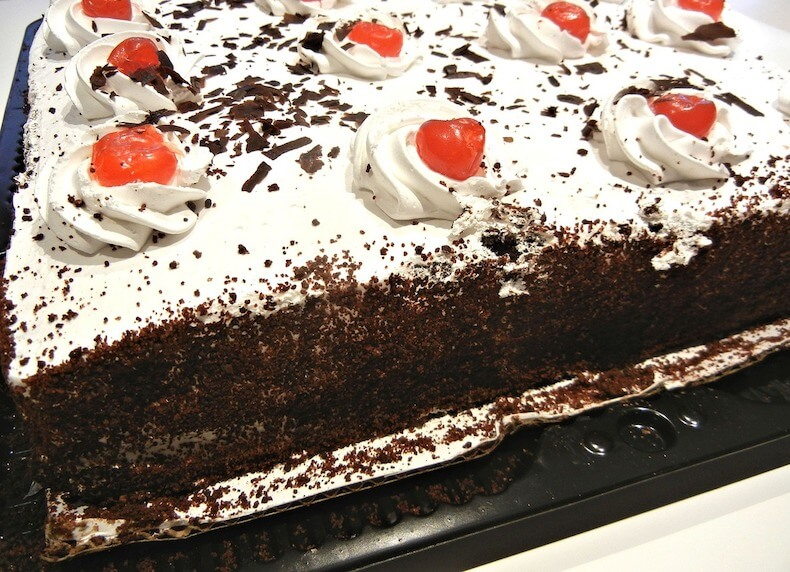Bavarian Black Forest Cake