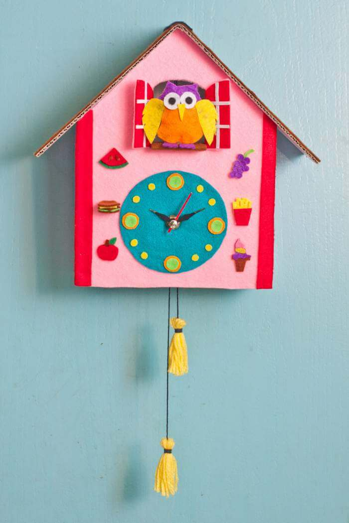 Diy cuckoo clock crafts for kids bavarian clockworks How to make a cuckoo clock