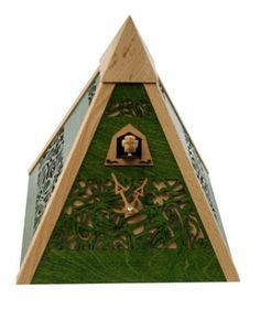cuckoo pyramid clock rombach und haas