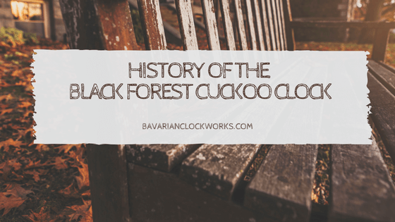 history of the black forest coo coo clock