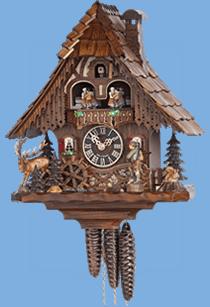 chalet coo coo clocks german - Black Forest Cuckoo Clocks