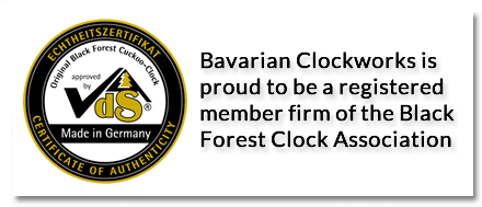 Vds certification black forest clock association
