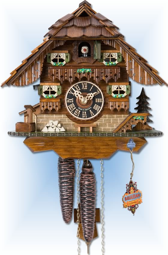 hones black forest house chalet style - Black Forest Cuckoo Clocks