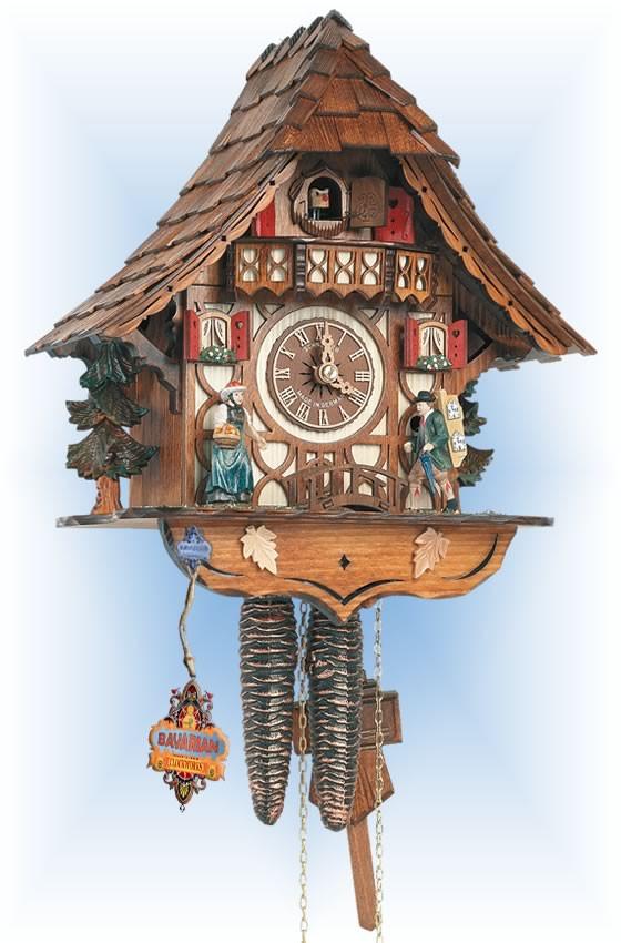 Schneider Clock Peddler cuckoo clock 13''