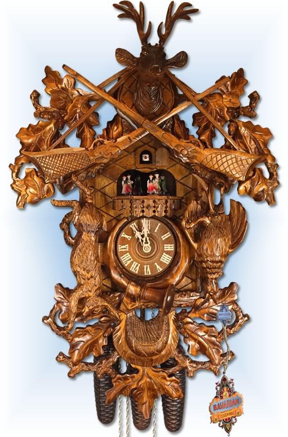 Rombach and Haas | cuckoo clock | 4552 | 25 inch | front | cuckoo