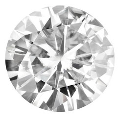 NEO Moissanite Loose Round Cut Stone E-F - Video Below