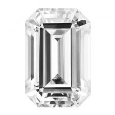 NEO Moissanite Loose Emerald Cut Stone G-H
