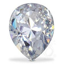NEO Moissanite Loose Pear Cut Stone G-H