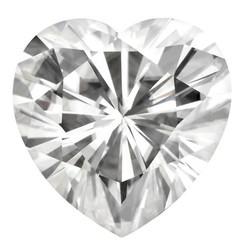 NEO Moissanite Loose Heart Shape Stone E-F