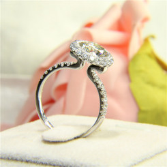 Custom Build - Eternal Moissanite 1.50CT Round Brilliant Cut Engagement Bezel Set Ring