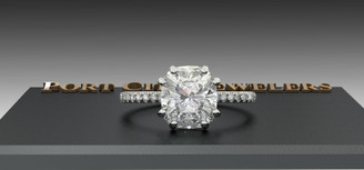 The Tracy Ring Series - Eternal Moissanite 2.40ct Elongated Cushion Cut Engagement Ring