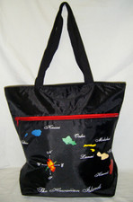 Hawaiian Island Map Tote