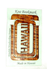 Hawaiian Koa Book marker Hawaii