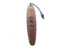 Koa Book marker Surfer