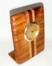 Hawaiian Koa Clock