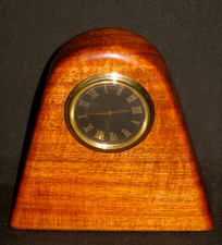 Hawaiian Koa Wood Clock