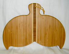 Bamboo Cutting Board Whale Tail