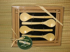 Island Bamboo spoon set