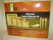 Bamboo Dinnerware packs
